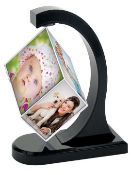 Magical Magnetic Floating Photo Cube Frame