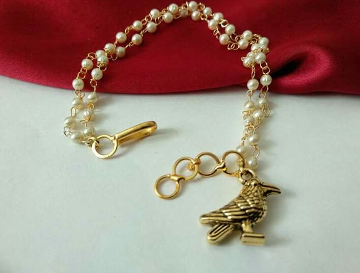 Fancy Rakhi Cum Bracelet For Women